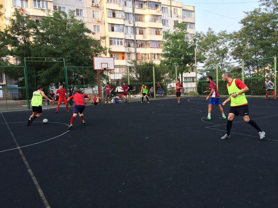 Артель – СЖС Восток. Новороссийская футбольная лига