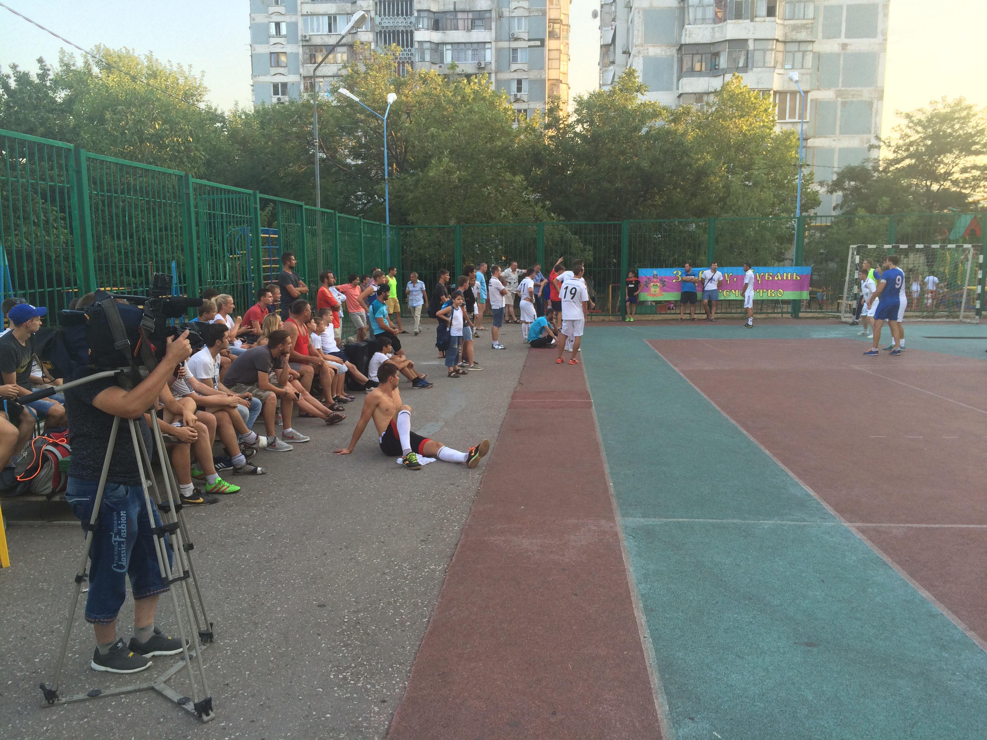 Финал кубка г. Новороссийска по мини-футболу среди предприятий 2016